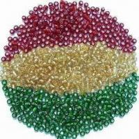 China Glass Seed Beads, Used for Arts and Crafts, Available in Various Colors wholesale