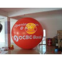 Quality Custom Made Red Giant Fill Business Advertising Helium Balloons for Entertainment Events for sale