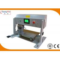 China Four Optional Speed PCB Depaneling Machine With Lcd Display And Safe Sensor wholesale