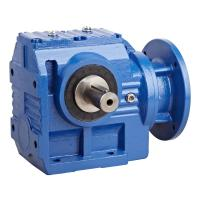 China S Series Modular Helical Worm Gear Motor , High Speed Worm Gear Reduction Box wholesale