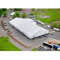 China Rainproof Fabric Sidewall Strong Event Tent Accommodation With Heavy Duty Material wholesale