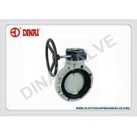 Wholesale ISO Corrosion prevention wafer butterfly valve for chlorine plant from china suppliers