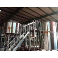 High Efficiency Craft Beer Large Scale Brewing Equipment Siemens Control System for sale