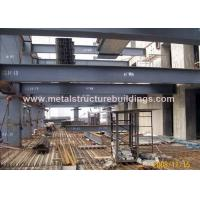 China Commercial Steel Frame Structure , Pre Engineered Mezzanine For Workshop wholesale