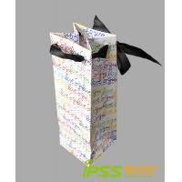 China Kraft / Foil Paper Personalized Paper Bags , Offset Printing on sale
