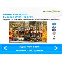 Wholesale Digital Media Content Creation for  EPG Guide on IPTV OTT DVB Platform from china suppliers