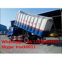 China bulk grains suction and delivery truck with factory price, forland self-sucking grains transported van truck for sale on sale