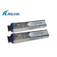 China Metal Enclosure Simplex SFP Transceiver Module , Cisco Compatible SFP Modules on sale