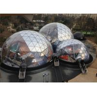 China Spacious 20M Diameter Geodesic Dome Tent With Transparent Fabric wholesale