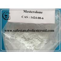 China Mesterolone ProvironOral Anabolic Steroids For Body building , CAS 1424-00-6 wholesale