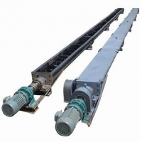 China DN80 Stainless Steel Auger Screw Solid Conveying System wholesale