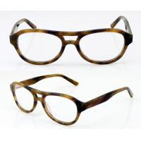 Eyeglass Frames Oval : Fashion Oval Acetate Mens Eyeglasses Frames, Leopard ...