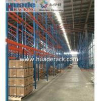 China Industrial Selective Pallet Racking Systems Double Depth Optional Color wholesale