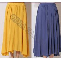 China Summer Nifty Lovely Womens Wool Skirts Long Solid , Anti Wrinkle wholesale