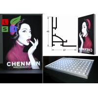 China 45mm Thickness LED Frameless Fabric Light Box Single Side For Clothes Retail Display wholesale