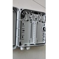 China 12 Core Plastic Pole Mounted Fiber Optic Cable Junction Box / Fiber Optic Splice Box wholesale