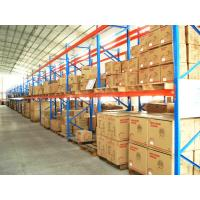 Wholesale Cold Rolled Adjustable Heavy Duty Pallet Racking , Industrial Shelving Systems from china suppliers