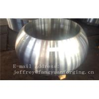 China Spherical Size Rough Turned Valve Forging ASTM A105 F304 F316 F51 F53 F60 wholesale