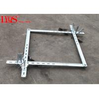 China 1.3-1.9 Feet Forged Column Form Clamps With Q345 B Grade Steel Materials wholesale
