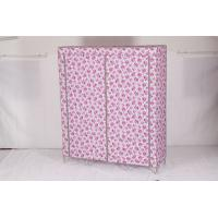 China ss201 Non-woven Wardrobe, Bedroom wardrobe  22mm /19MM 3 door  ODM offer wholesale