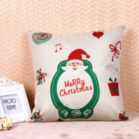 China Printed Pillow Cushion Covers , Christmas Series Decorative Sofa Pillows wholesale
