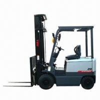 China Counter-balanced Electric Forklift with Maximum Lift Capacity of 2T wholesale