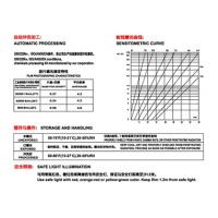 China Radio graphing film Radiation film Industry film D7 T7 for X ray Gamma ray inspection wholesale