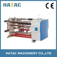 China Automatic Silicone Paper Reel Cutting Machine,TAC Film Cutting Machine,PET Paper Slitting Rewinding Machine wholesale