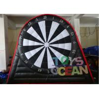 China 6 X 5m Double Side Inflatable Soccer Dart With Velcro Ball 0.55mm PVC Tarpaulin wholesale