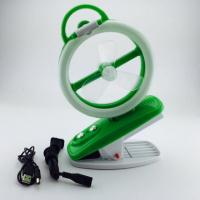 Buy cheap 220V High Speed Rechargeable Fan Usb Rechargeable Portable Fan green from wholesalers