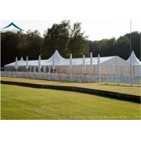 Buy cheap Aluminum Structure Sport Custom Event Tents White PVC Fabric Water Proof from wholesalers