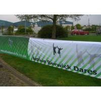 Quality Pvc / Fabric Fence Aero Outdoor Mesh Banners And Flags Digital Printing for sale