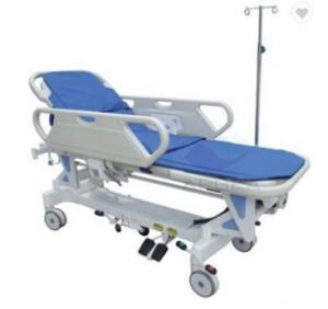 China Luxurious Central control Hydraulic Emergency Stretcher Trolley on sale