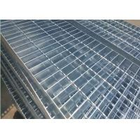 China Plain Type Metal Walkway Grating , 25 X 5 / 30 X 3 Galvanized Floor Grating wholesale