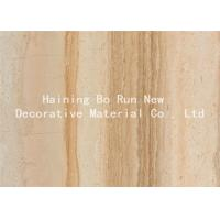 China Durable PET Hot Stamping Film , Wood Grain Hydrographic Film Damp Proof wholesale