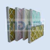China No Metal Disposable Air Filters HVAC Low Pressure Drop Media For Air Conditioner on sale