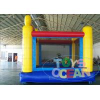 Quality Outdoor Party Childrens Inflatable Bounce House For Rental Security for sale