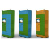 China Custom Self Recycling Kiosk Booth For Plastic Bottles / Newspapers wholesale