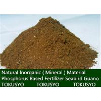 China Natural Inorganic Mineral  Material Seabird Guano Phosphorus Based Fertilizer wholesale