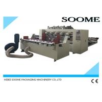 China Automatic Feeder Paper Thin Blade Slitter Scorer For Corrugated Sheet 2500mm wholesale