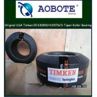 China Origin USA OEM Timken Tapered Roller Bearing for plastic machinery EE430900 / 431576CD wholesale