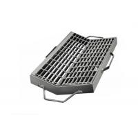China Road Channel Galvanised Drainage Grates Plain Welded Rebar Open Mesh / Grid Plate wholesale