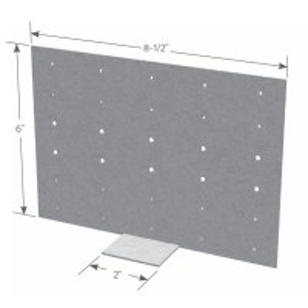 Quality H Multi Hole Universal Steel Header Hanger Metal Framing Parts for sale