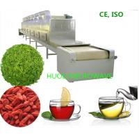 China High Speed Microwave Dryer Tunnel Drying Oven For  Flower Tea Leaf wholesale