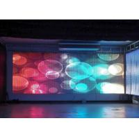 Exterior Flexible Commercial LED Display Advertisement Display Screen