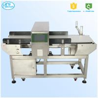China Self Frequency Adjustment Belt Conveyor Metal Detectors With Full Digital Touch Screen on sale