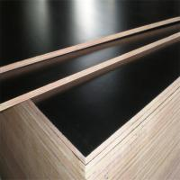 China Film faced WBP 1220*2440mm Brown black cheap shuttering plywood in concrete on sale