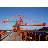 China Mobile Rubber Tyred Port Gantry Crane , Rail Mounted Continuous Ship Unloader wholesale