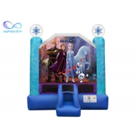 China 1000D 3 In 1 Jumping Castle Inflatable Trampoline Bouncer wholesale