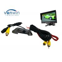 China Taxi Vehicle Hidden Camera DVR system , Frontview or Rearview Cam with 6 IR lights on sale